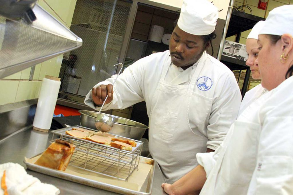 Culinary Arts students get hands-on training in the modern kitchen