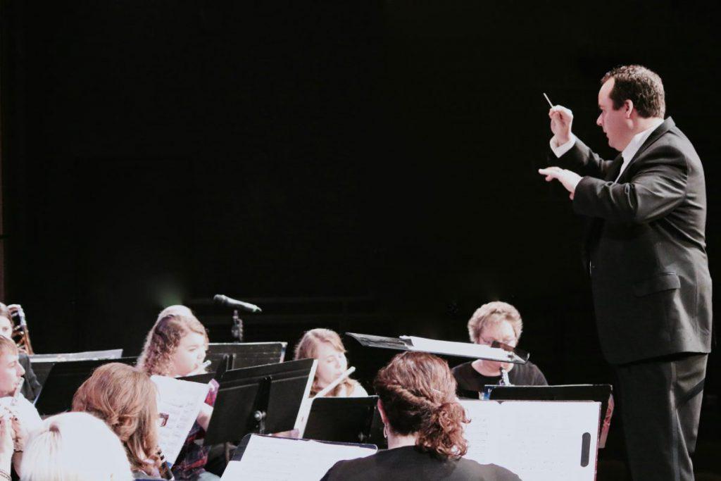 A SWIC ensemble practices music.