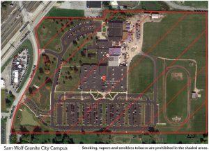Pubsaf Swgcc Tobacco Free Map Southwestern Illinois College