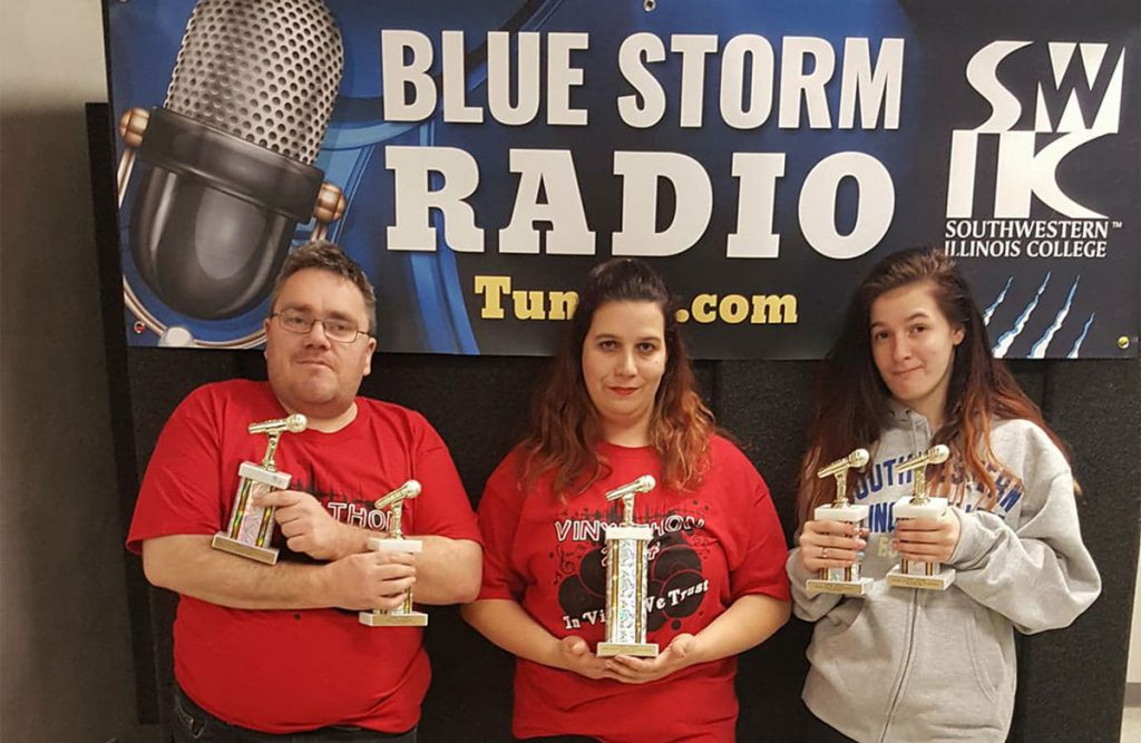 SWIC Blue Storm Radio three award winners