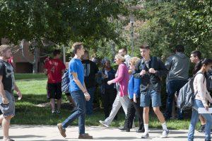 SWIC.edu students on campus