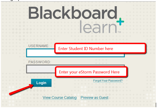 Logging Into Your Blackboard Account Southwestern