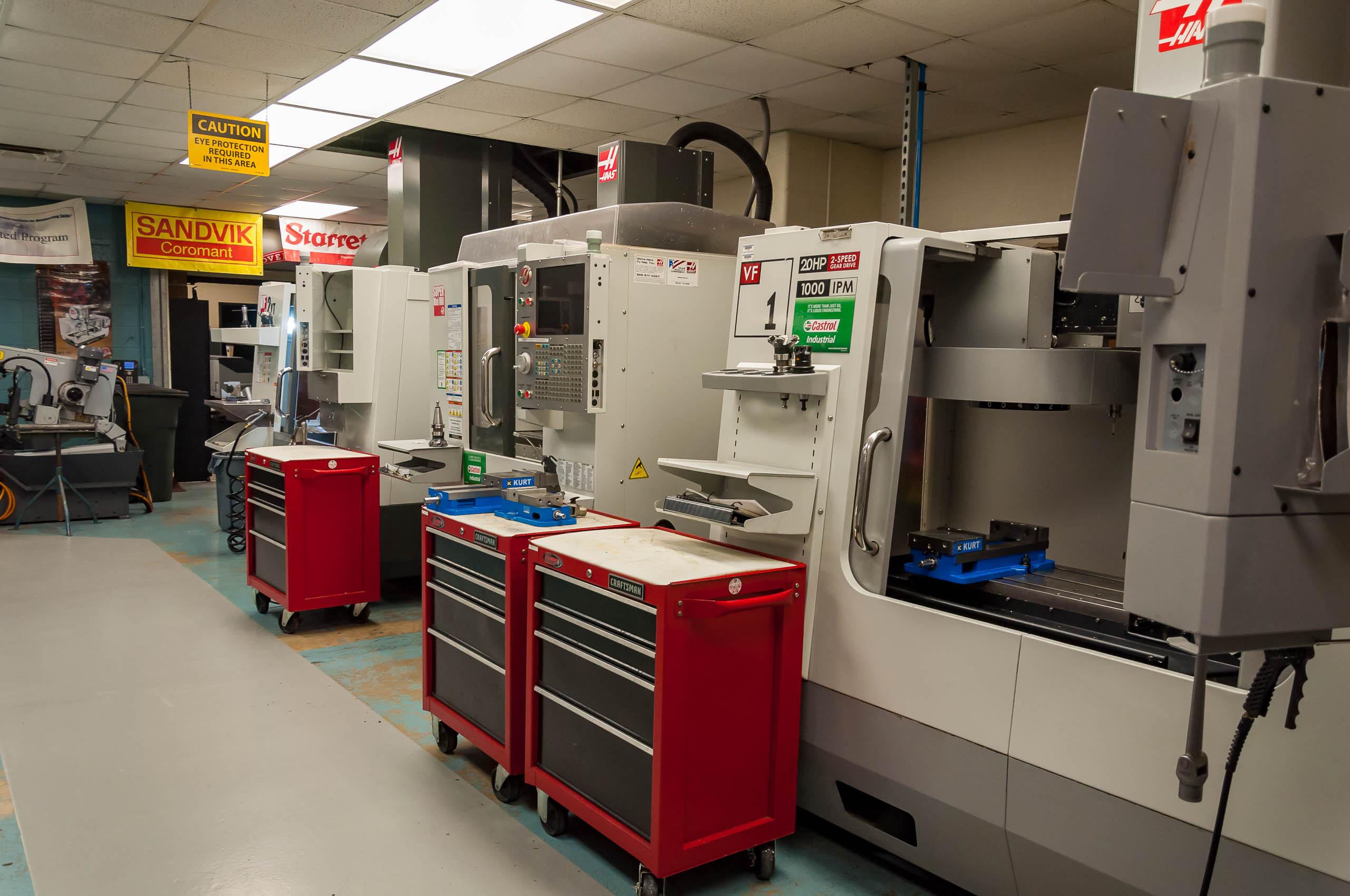 Precision Machining Equipment.