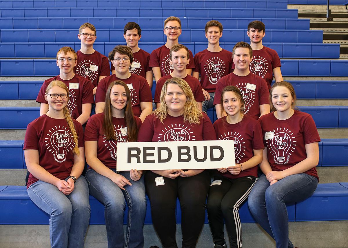 Red Bud High School Academic Challenge team 2020