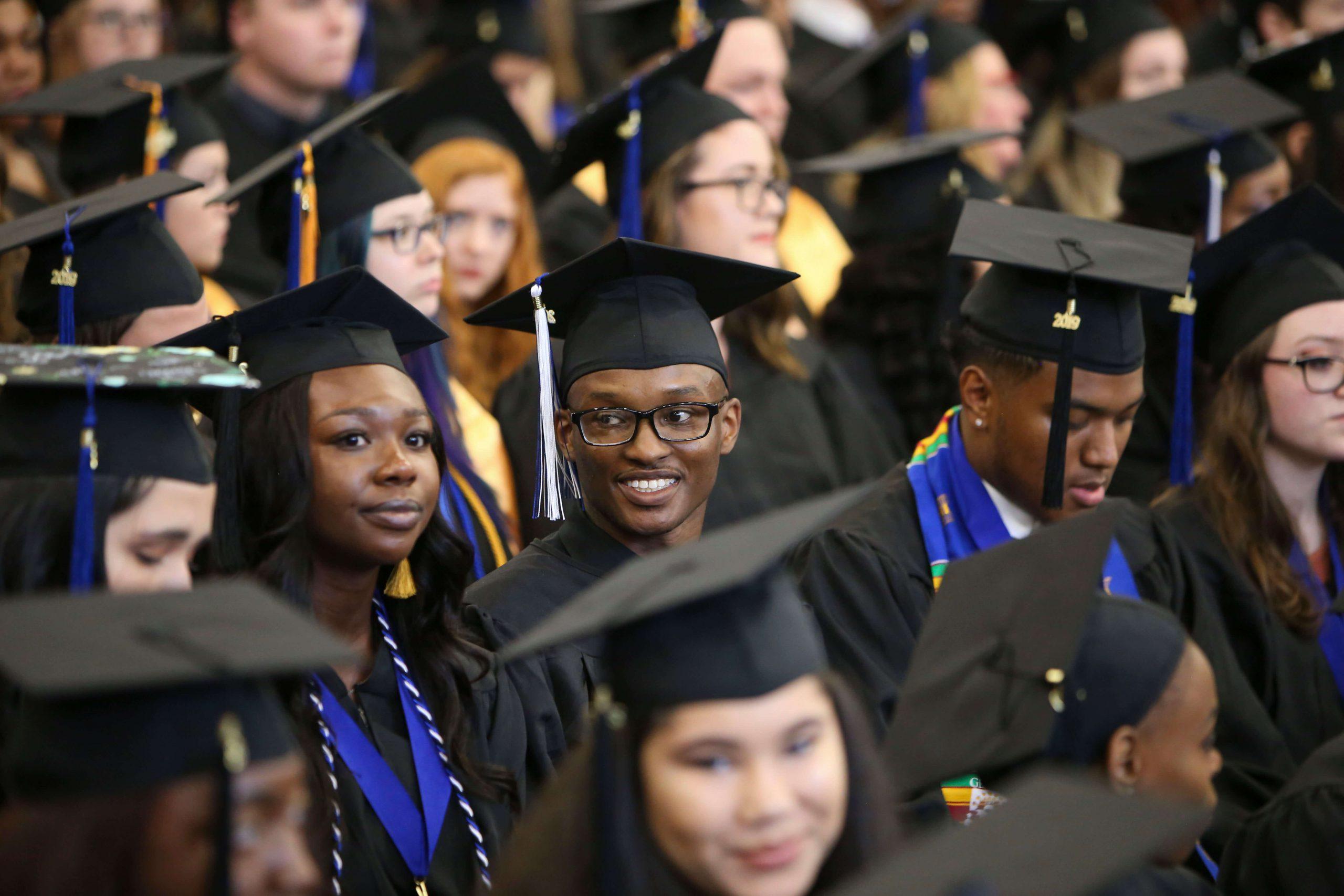 SWIC file photo of Graduation commencement ceremony.