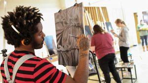 SWIC art student file photo