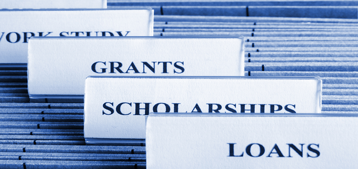 Financial Aid photo illustration grants and loans