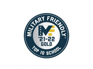 Military Friendly 2021 school logo banner