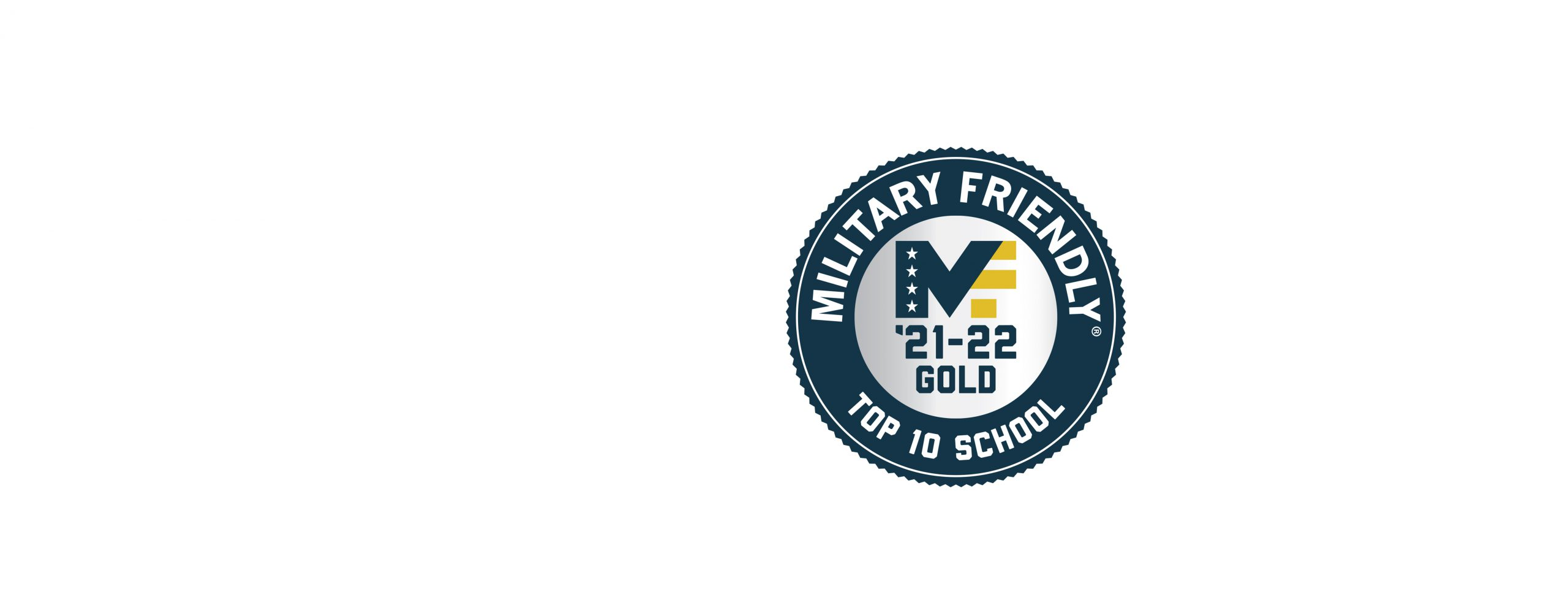 Military Friendly 2021 Banner logo