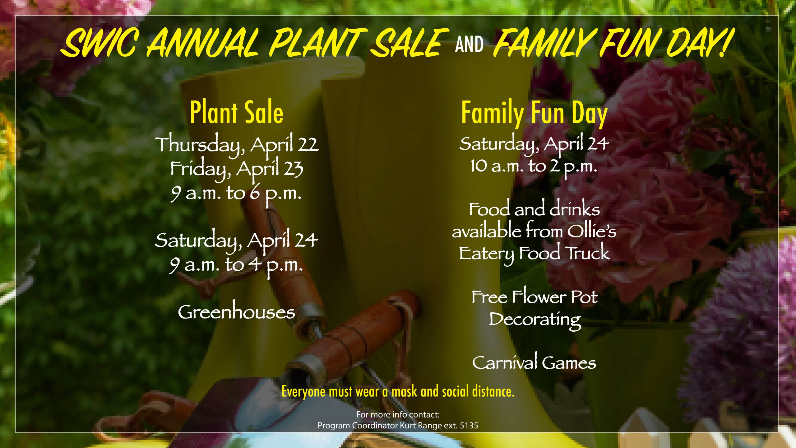 SWIC Annual Plant Sale and Family Fun Day