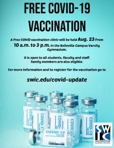 COVID vaccination flier 2021