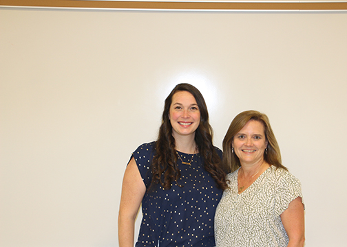 2021 Faculty of the year Carolyn Beal and Jessica Day - Early Childhood Education